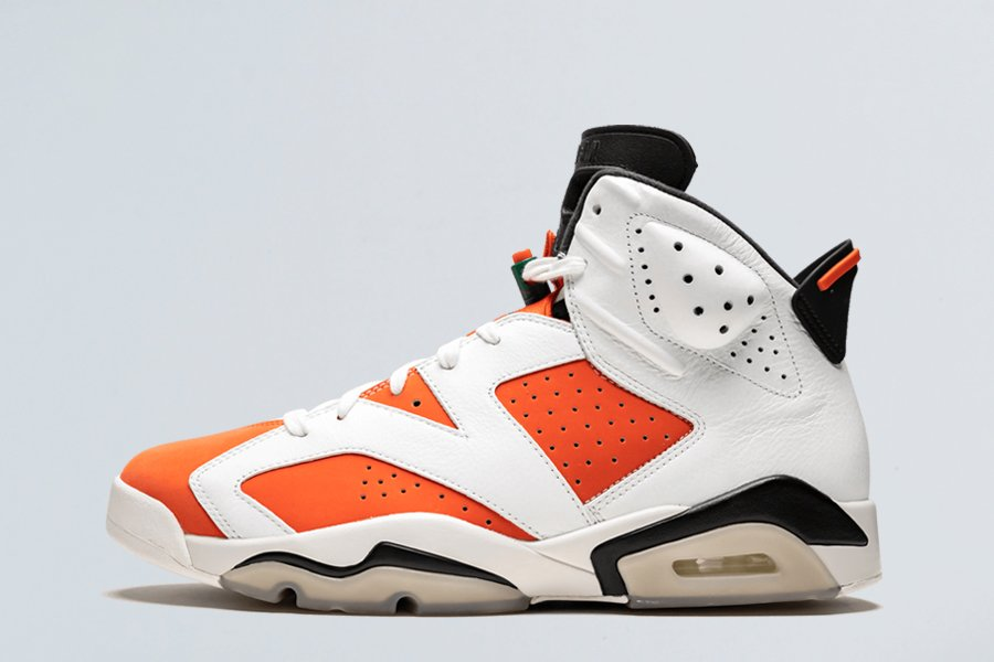 Air Jordan 6 Retro Gatorade Be Like Mike White Orange Black For Sale