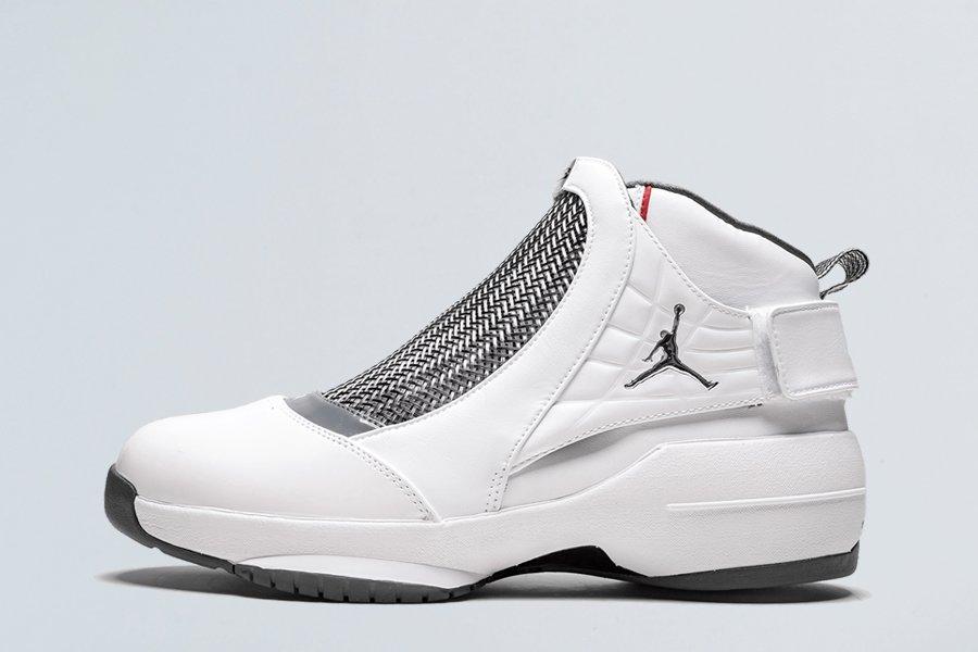 2019 Air Jordan 19 Retro White Chrome-Flint Grey For Sale