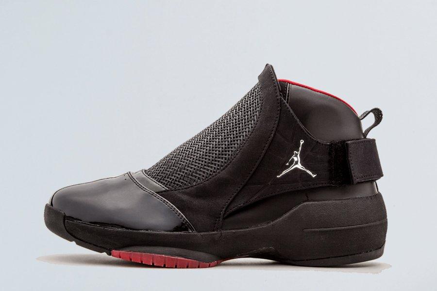 Air Jordan 19 Retro Black Chrome-Varsity Red On Sale