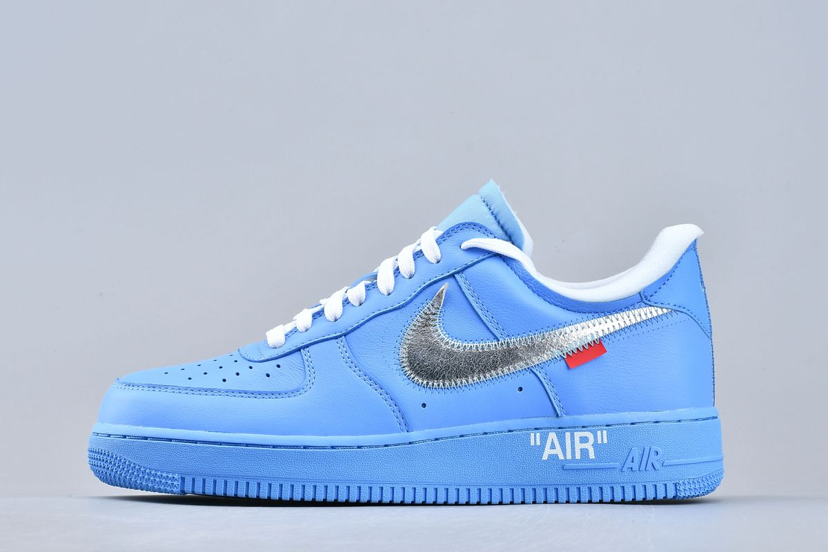 2019 OFF-WHITE x Air Force 1 Low 07 MCA University Blue For Sale