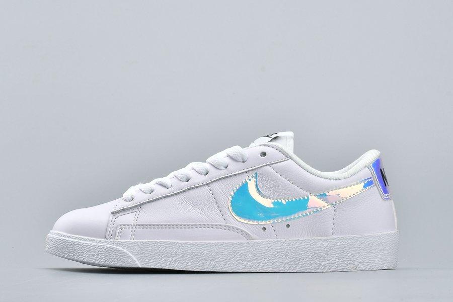 Buy Nike Blazer Low PRM Iridescent White Online