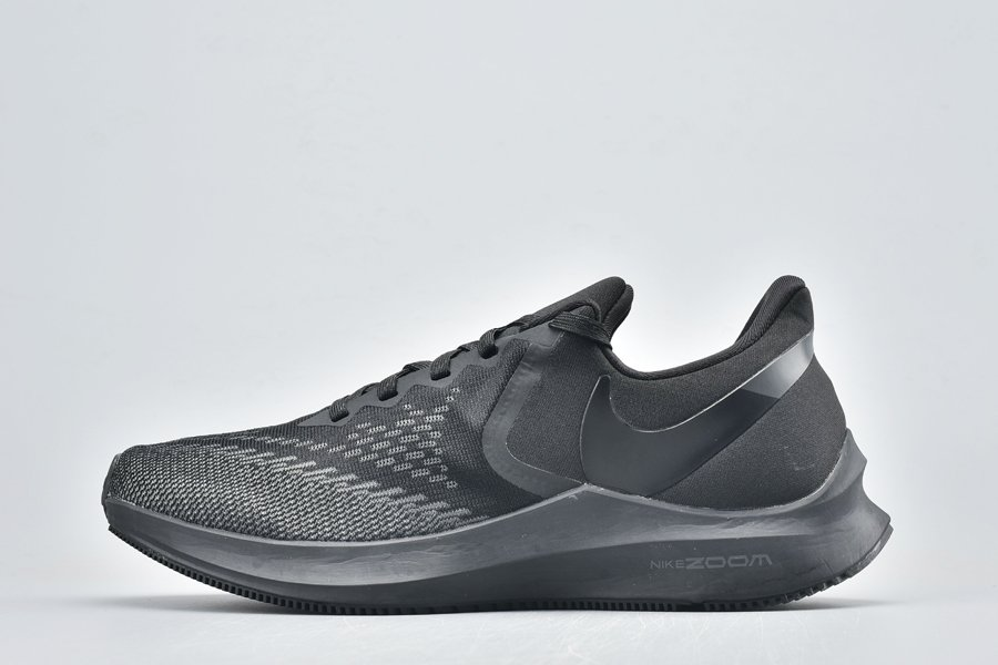 Nike Air Zoom Winflo 6 Triple Black AQ7497-004 For Sale