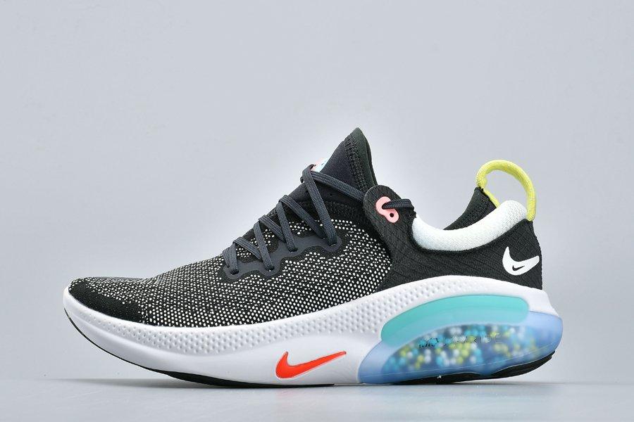 Nike Joyride Run Flyknit Black White Blue Volt For Sale