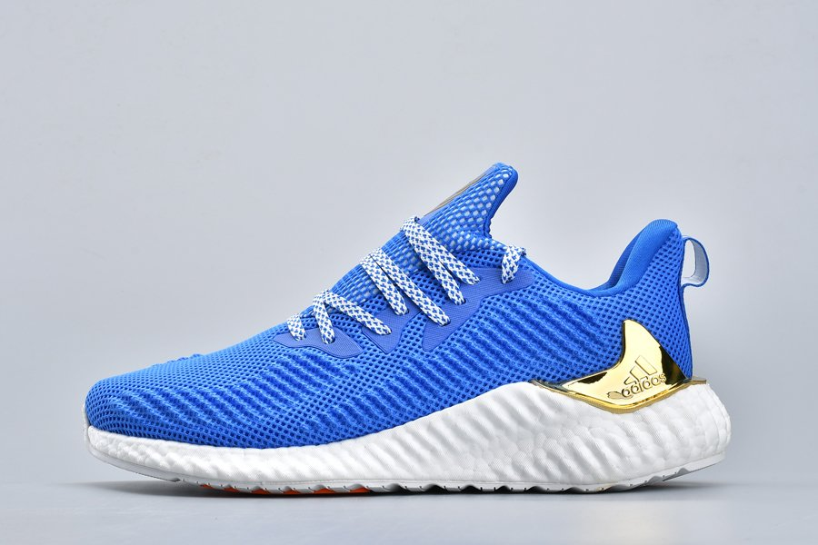 Buy adidas Alphaboost Mens Glory Blue Running Shoes Online