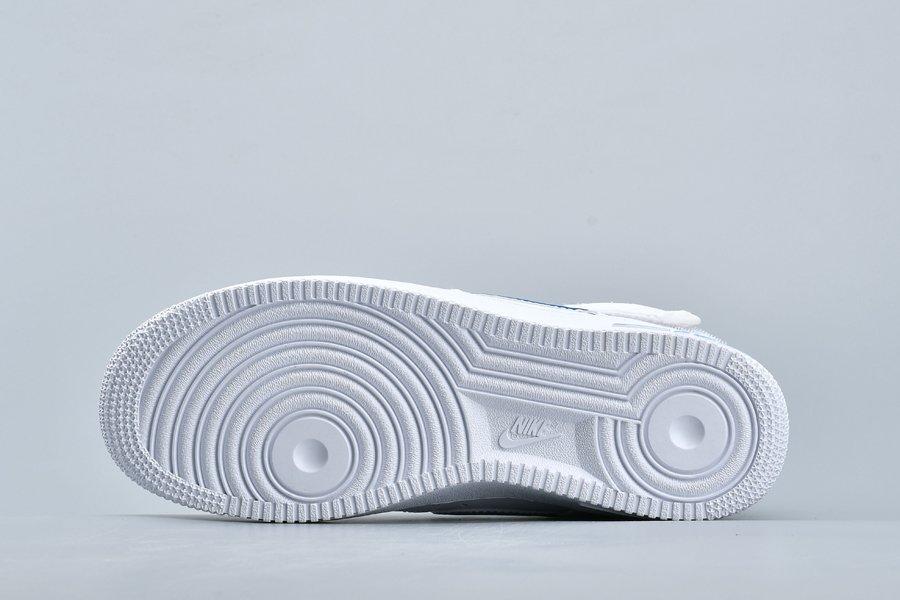 Nike Air Force 1 High '07 3 Photo Blue/White Scarpe Economiche ...