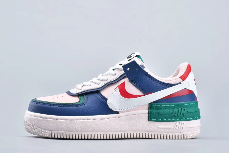 Womens Nike Air Force 1 Shadow Mystic Navy CI0919-400 For Sale