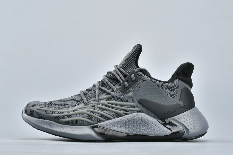 adidas Alphabounce Yeezy Boost Dark Grey Black To Buy