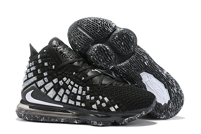 Shop Now Nike Lebron 17 Black White Online