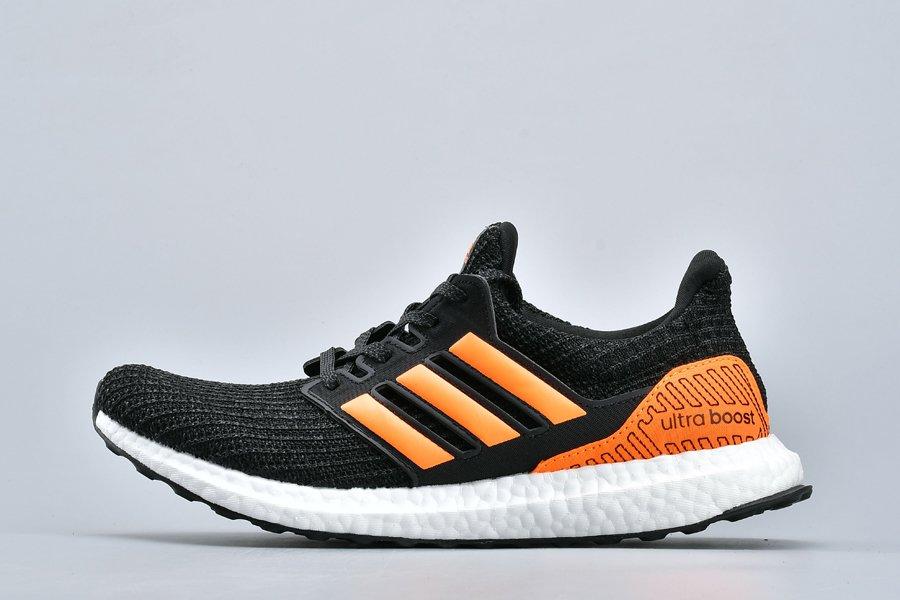 adidas Ultra Boost 4.0 Black Solar Orange EH1423 For Sale