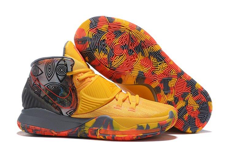 Buy Now Nike Kyrie 6 Pre-Heat Beijing Yellow Grey CQ7634-701 Online