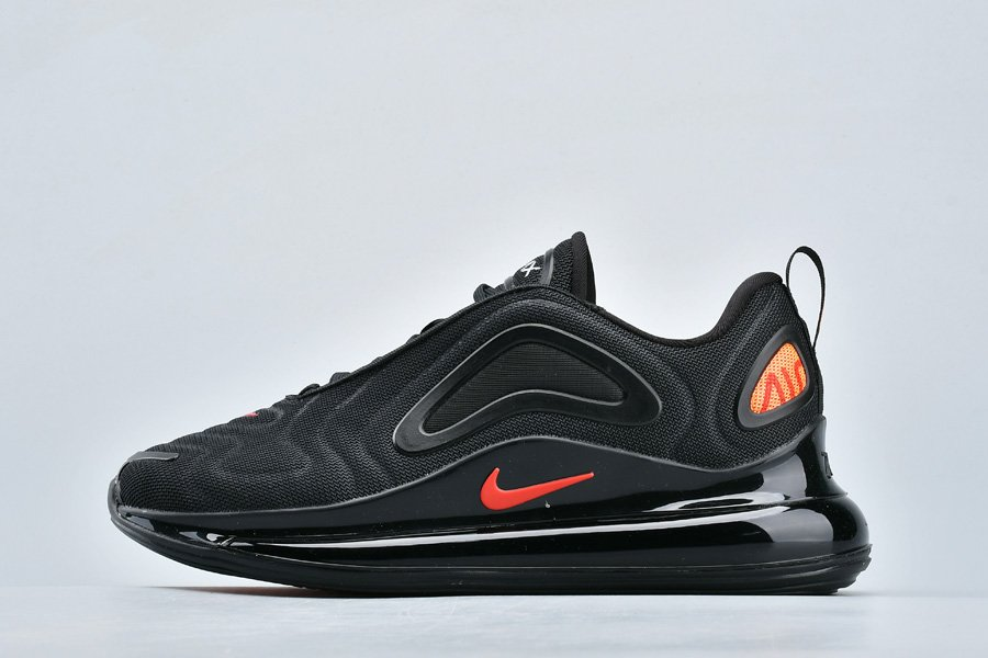 Nike Air Max 720 By You Black Hyper Crimson-University Red To Buy