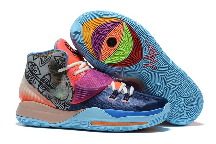 Nike Kyrie 6 Pre-Heat Heal The World Colorful CN9839-403 For Sale