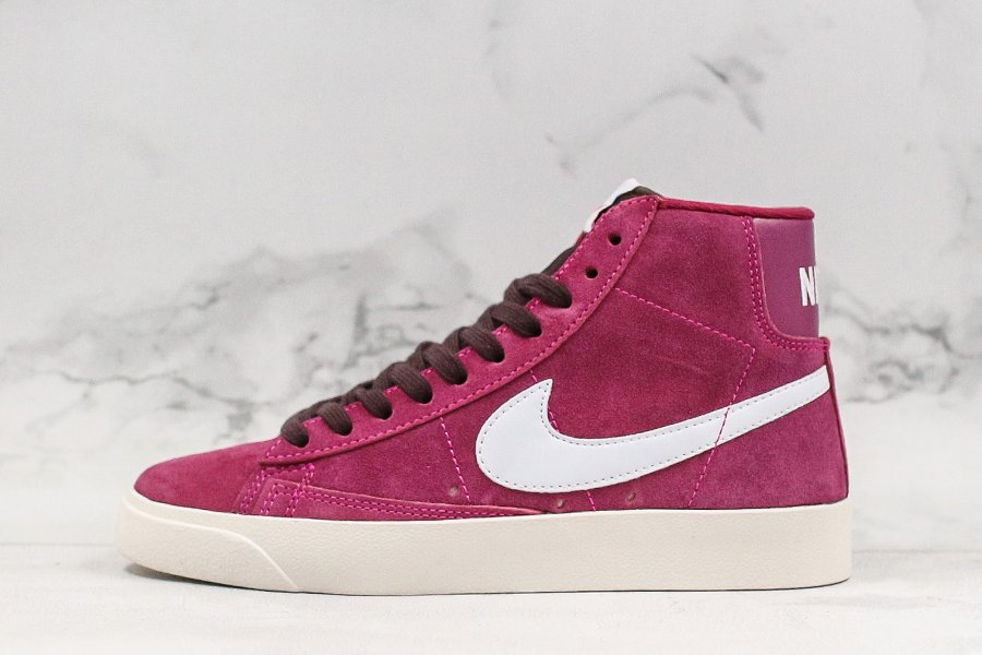 Nike Wmns Blazer Mid Vintage Suede True Berry Sail For Sale