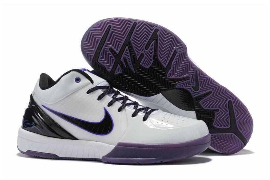 Nike Zoom Kobe 4 Protro White Concord Black Online Sale
