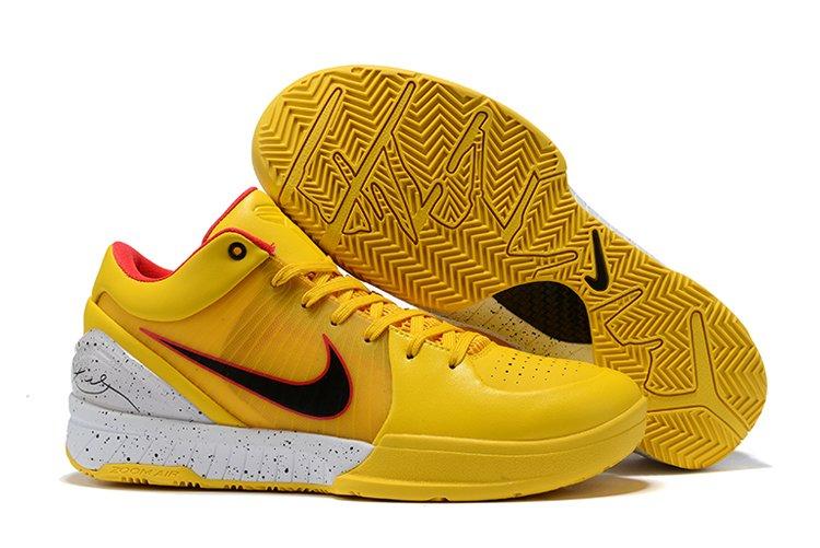 Nike Zoom Kobe 4 Protro Yellow White Black Red To Buy