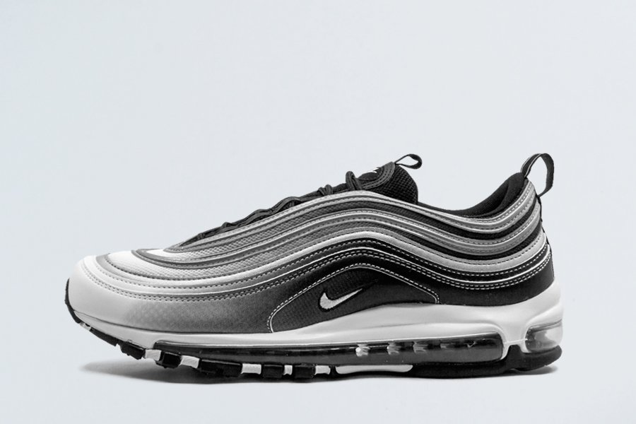Gradient Nike Air Max 97 With 3M Stripes In Black and White