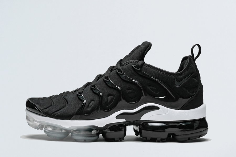 Nike Air Vapormax Plus Black Anthracite White Trainers For Sale