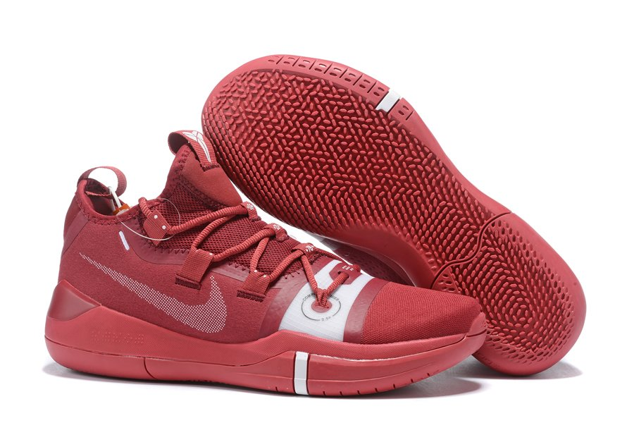 Nike Kobe A.D. Exodus Red Mens Basketball Shoes For Sale