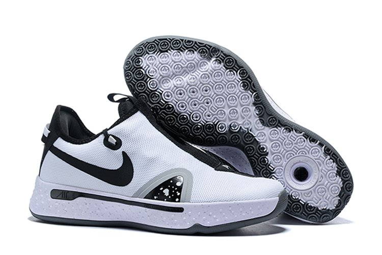 Nike PG 4 Oreo White Black Pure Platinum For Sale