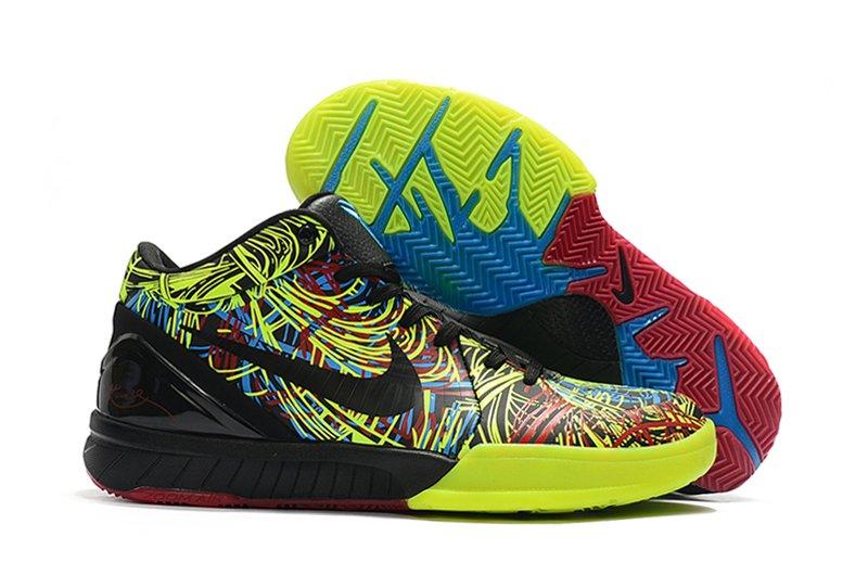 Nike Zoom Kobe 4 Protro Wizenard Multi-Color Black-Volt For Sale