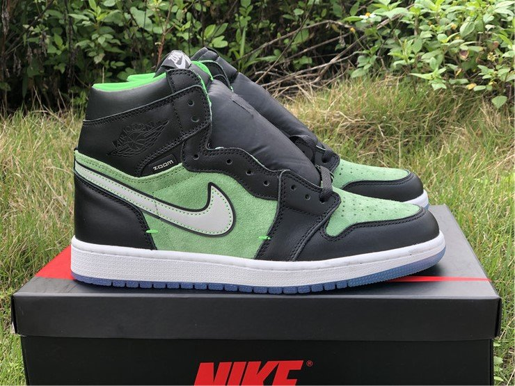 Air Jordan 1 High Zoom Rage Green CK6637-002 For Sale