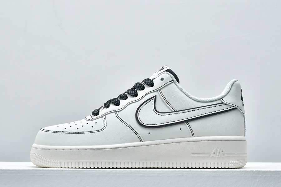 Nike Air Force 1 07 Low Leather White Black Static 3M To Buy