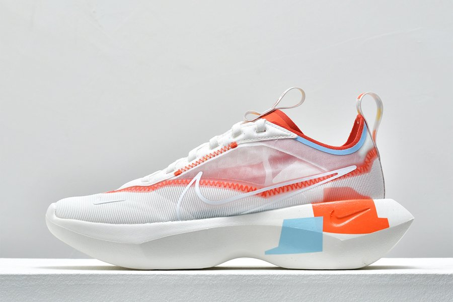 Womens Nike Vista Lite SE White Team Orange-Psychic Blue Running Shoes
