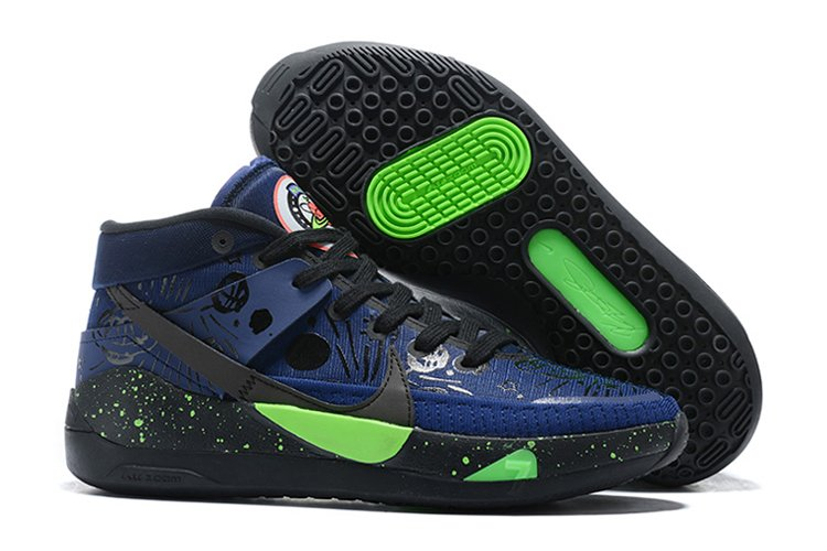 Buy Nike KD 13 The Planet of Hoops Midnight Navy Black-Electric Green