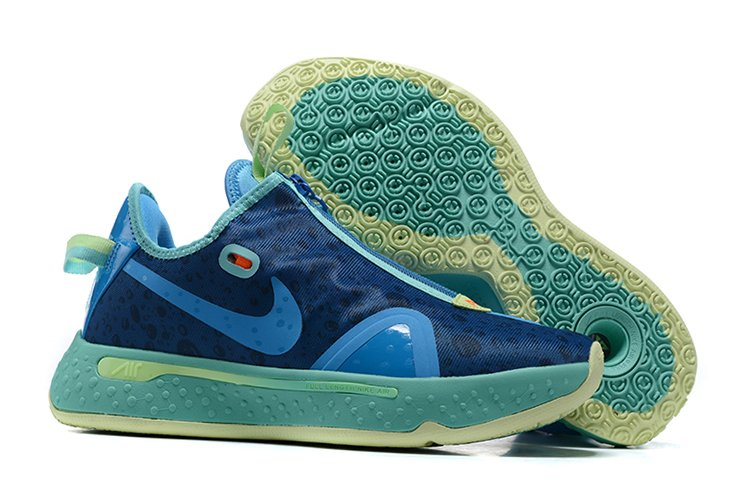 Gatorade x Nike PG 4 GE NBA 2K20 Blue Lagoon Barely Volt To Buy