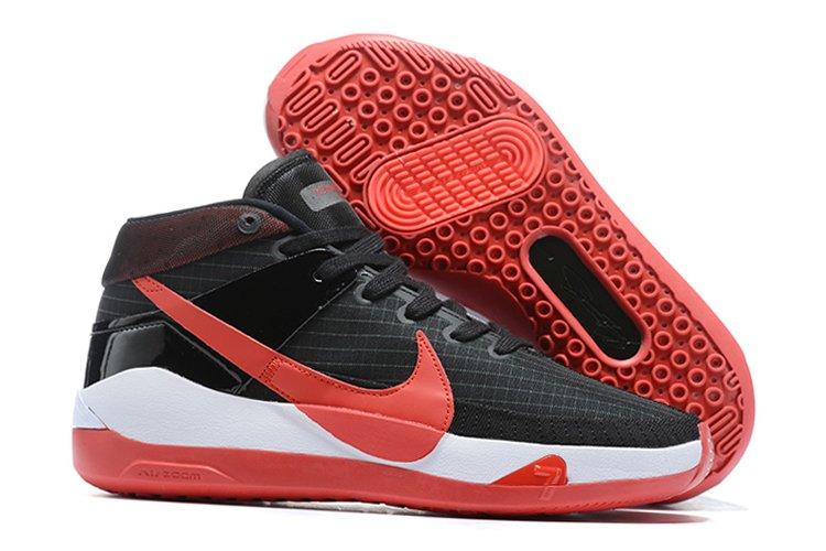 Nike KD 13 Bred Black White-University Red For Sale