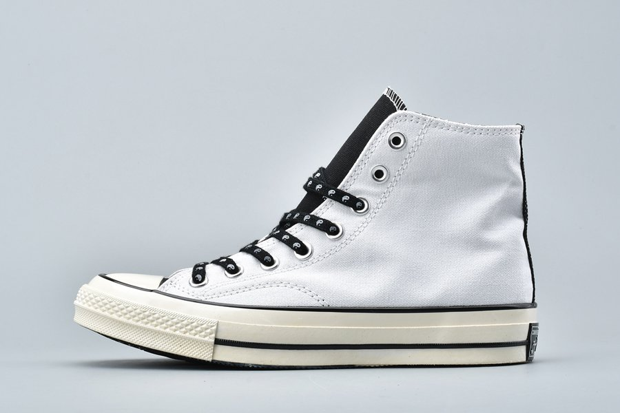 Converse Chuck 70 Psy-Kicks HI White Black Egret On Sale
