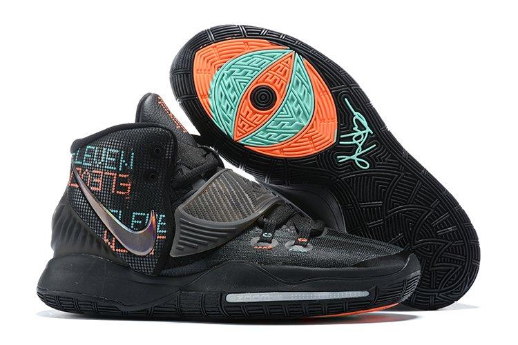 New Nike Kyrie 6 Eleven Shot Clock Black On Sale