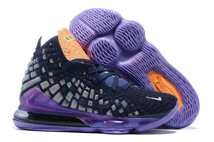Nike LeBron 17 Monstars Navy Heather Multi-Color Black To Buy