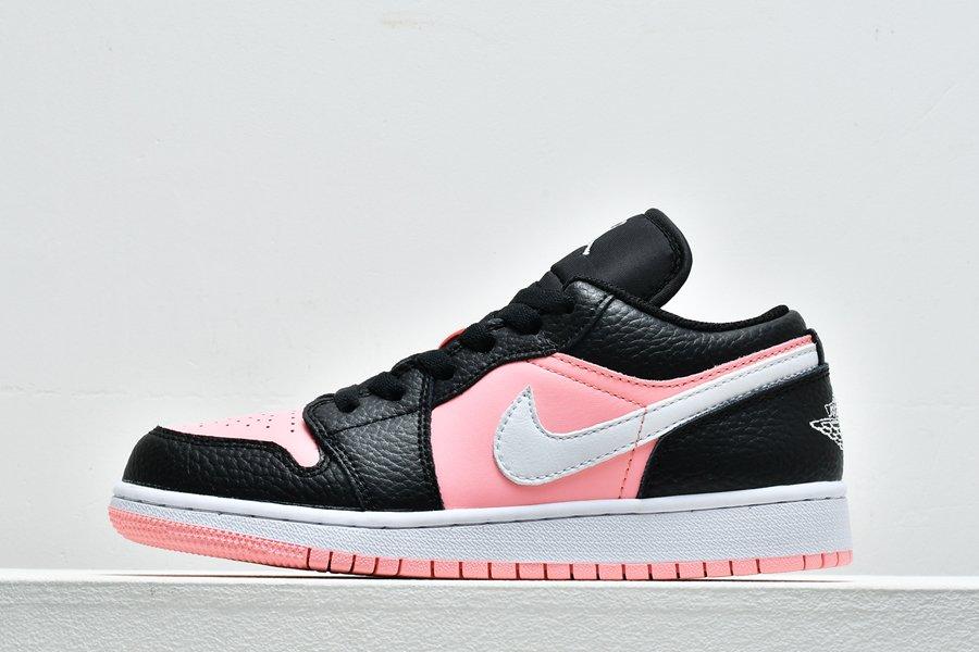 Womens Gradeschool Sizes Air Jordan 1 Retro Low Pink Quartz