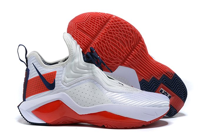 Nike LeBron Soldier 14 USA White Red