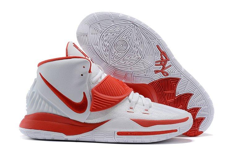 Nike Kyrie 6 White University Red