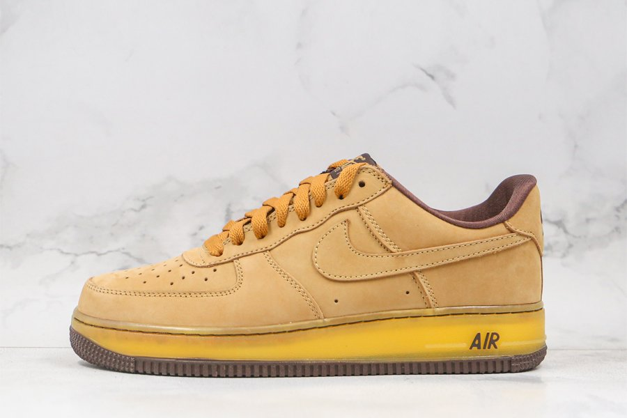2020 Nike Air Force 1 Low Wheat Mocha DC7504-700 To Buy