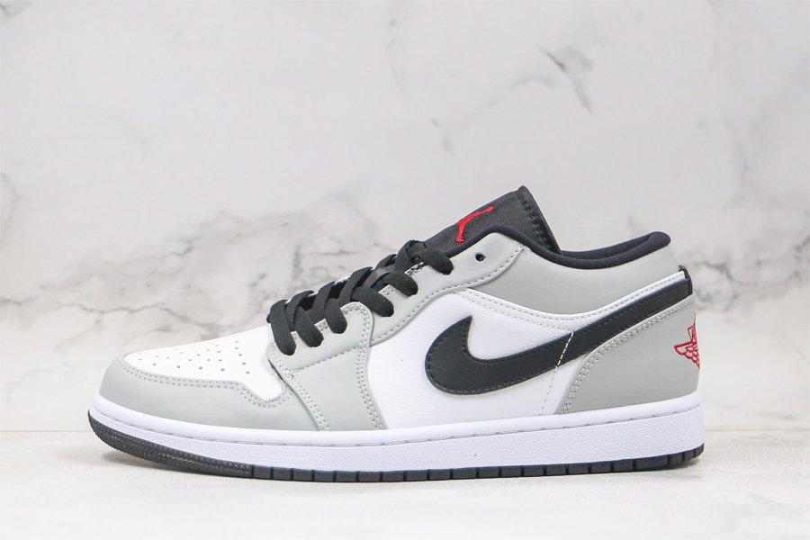 Air Jordan 1 Low Light Smoke Grey 553558-030 For Sale