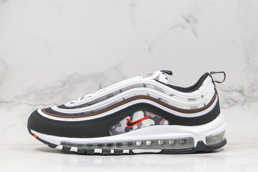 Nike Air Max 97 Remix White Baroque Brown-Pure Platinum-Black