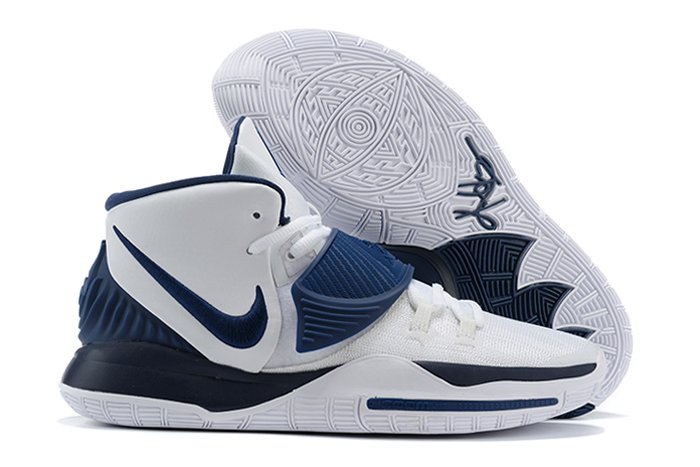 Nike Kyrie 6 Team White Midnight Navy To Buy