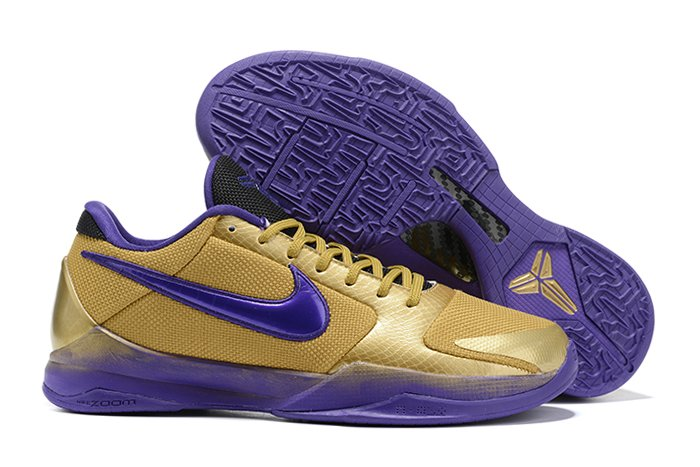 Undefeated x Nike Kobe 5 Protro Hall of Fame Gold Purple Red