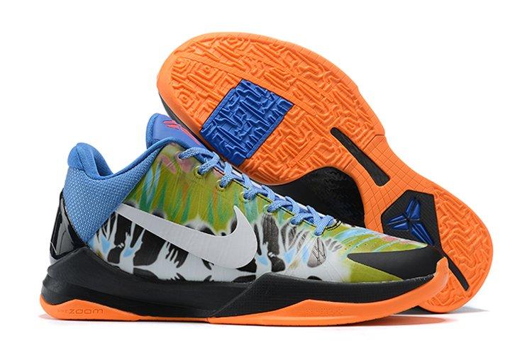 2020 Nike Zoom Kobe 5 Protro EYBL Multicolor Black-Orange