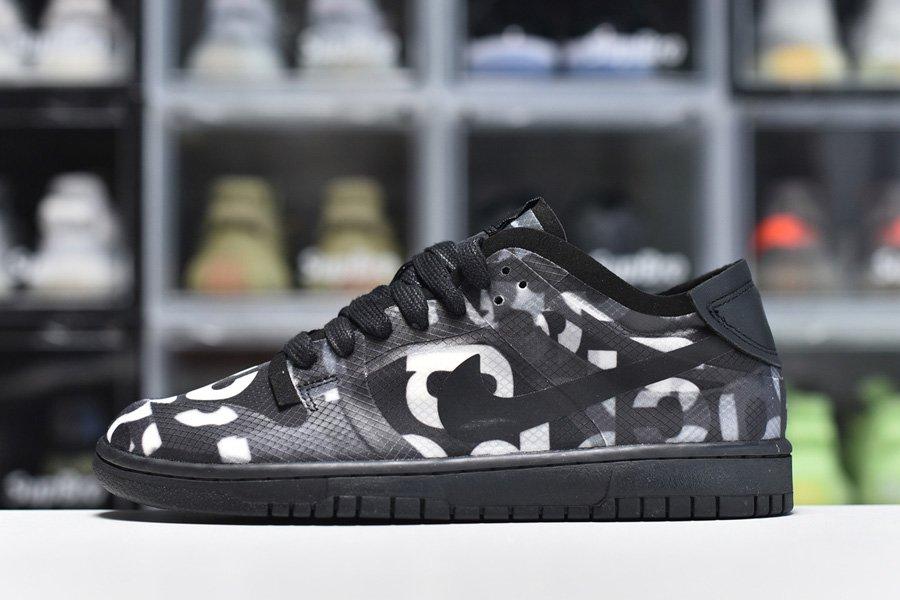 CDG x Nike Dunk Low Black