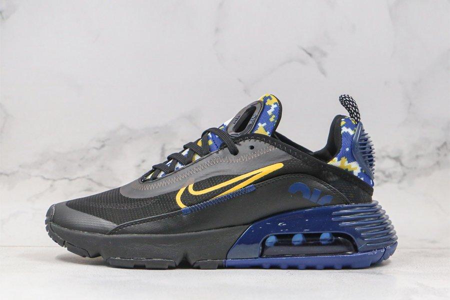 Nike Air Max 2090 Yellow Camo Black Yellow Blue DB6521-001 Sale