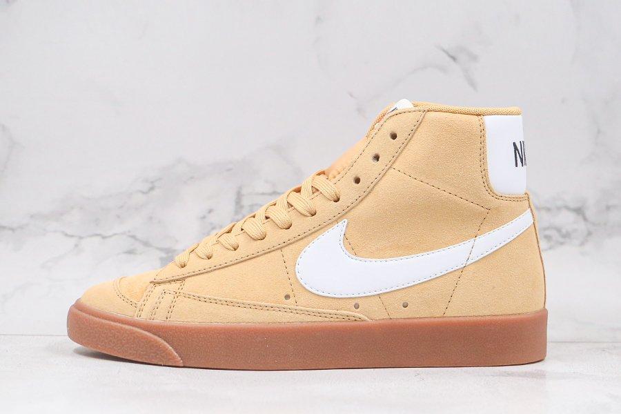 Nike Blazer Mid 77 Wheat Gum DB5461-700 For Sale