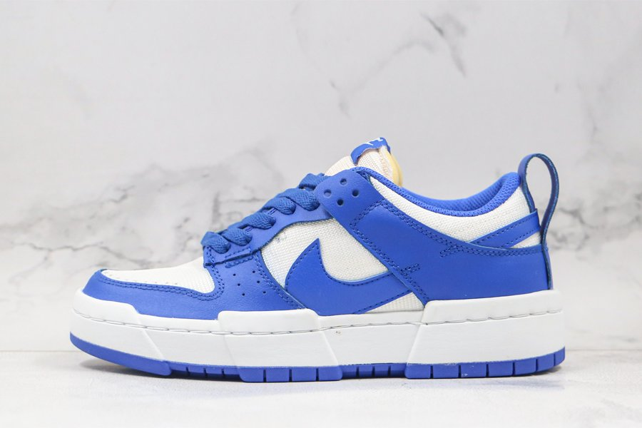 Nike Dunk Low Disrupt Game Royal White CK6654-100 For Sale