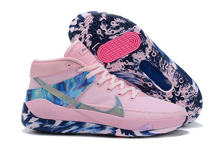 Nike KD 13 Aunt Pearl Pink Foam Light Arctic Pink-Blue Void