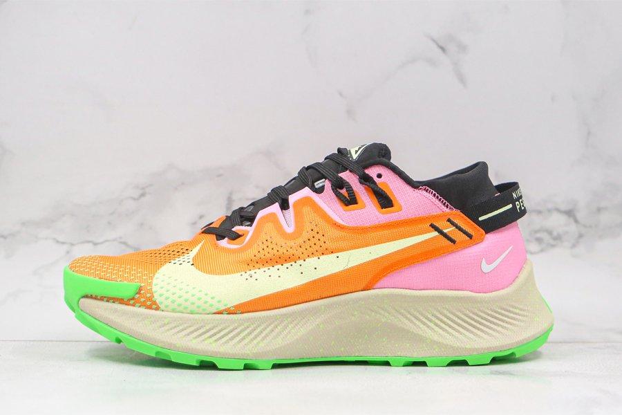 Nike Pegasus Trail 2 Bright Mango Atomic Pink-Fluorescent Green
