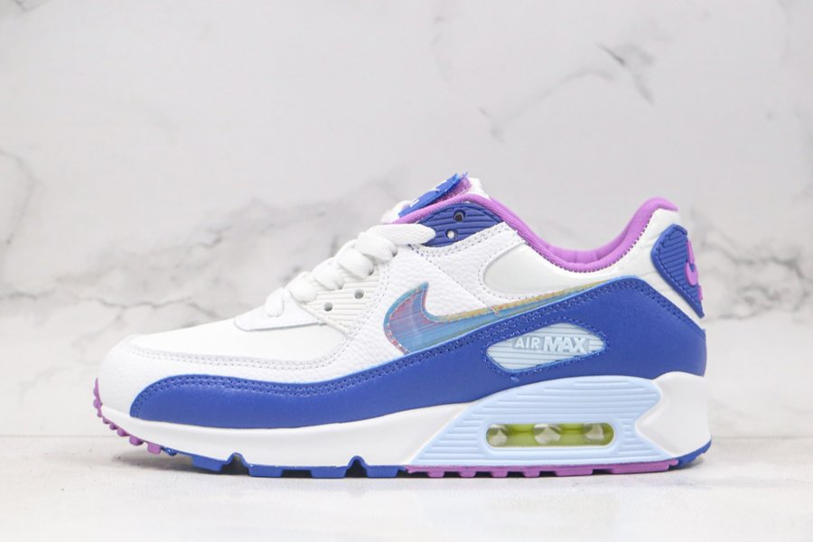 Easter-Themed Nike Air Max 90 White Blue Purple CT3623-100 To Buy