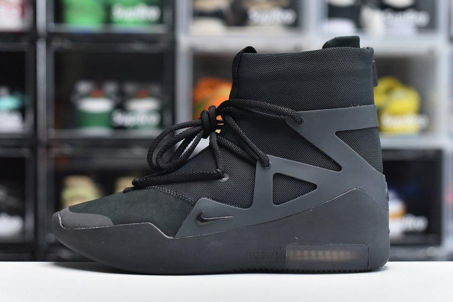 Nike Air Fear of God 1 Triple Black AR4237-005 To Buy